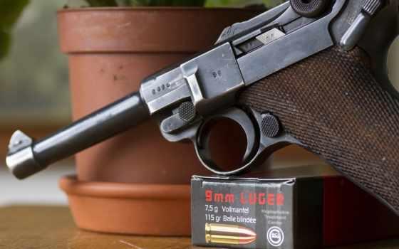 luger, пистолет, люгера