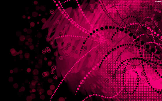 вектор, фон, розовый
