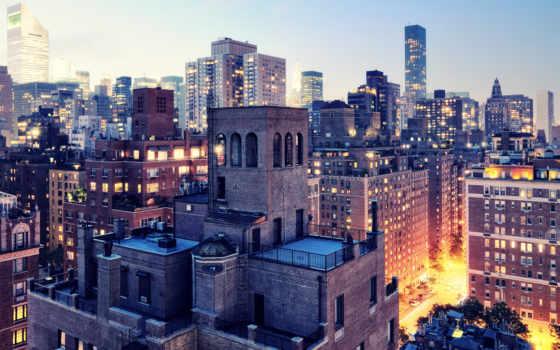 нью, york, города, широкоформатные, город, бесплатные, богота, мост, коллекция,