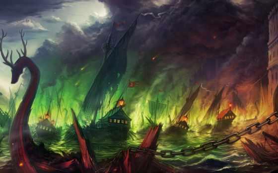 blackwater, битва, game, thrones, rub, страница, море, огонь,