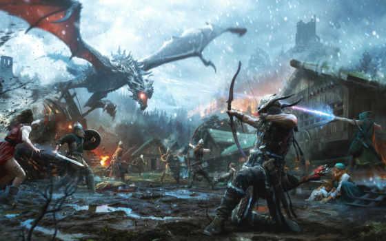 elder, scrolls, skyrim, legends, steam, game, bethesda, игры, heroes, android,