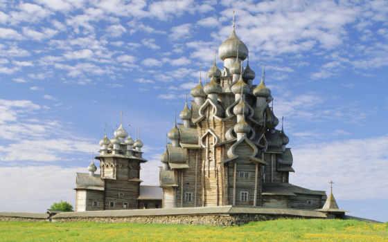 church, кижи, преображенская