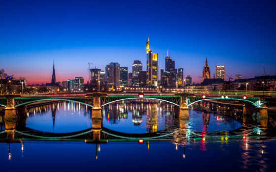 frankfurt, widescreen, resolution, страница, windows, skyline,