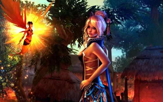 fantasy, анимэшки, девочки, world, яркие, девушка, картинка, совершенн, игры, missqualle, фея,