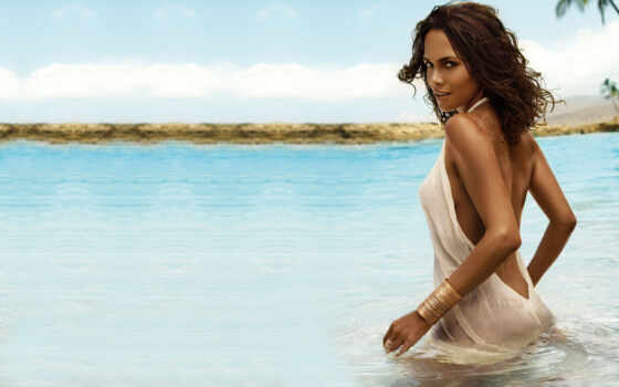 berry, halle, сексуальная, море, холли, соски, берри, nipples, попка, пляж, tagnotallowedtoosubjective, sexy, body,