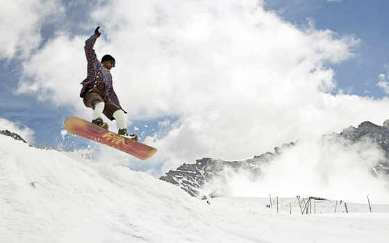 snowboard, widescreen