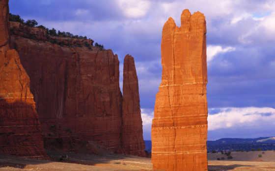 пустыня, гора, cliff