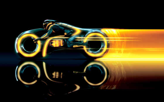 tron, legacy, трон, след, мотоцикл, виртуальность, наследие,