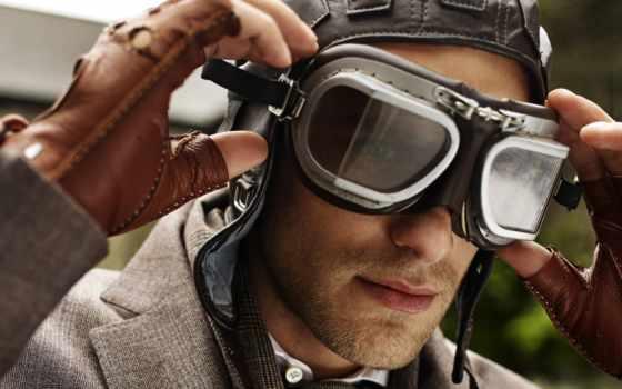 очки, парень, модель, масть, пилот,