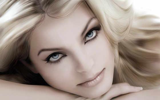 beleza, para, maquillaje