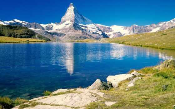 маттерхорн, desktop, швейцария, озеро, pinterest, castle, wonderland,