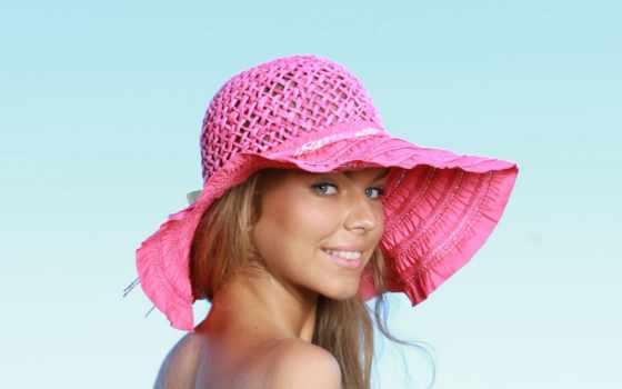 девушка, шляпа, blonde, images, top,