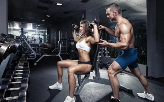 тренировки, зале, фитнес, тренажерном, спорт, pair, тренировок, делает, яndex,