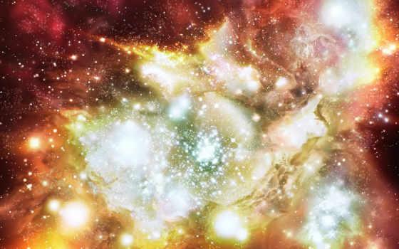 звезды, туманность
