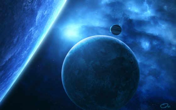 космос, планеты, art, звезды,