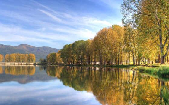 landscape, пейзажи, озеро
