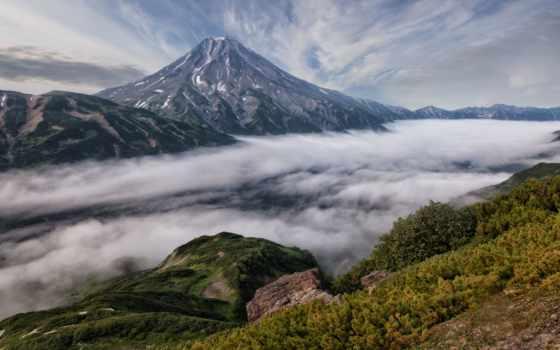 природа, камчатки, камчатка, fullhd, вулканы, uhd, очень, фотообоев, тематика, высоком,