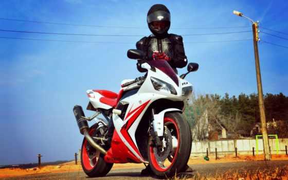мотоциклист, yamaha, kawasaki, спортбайк, desktopwallpape,