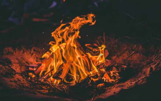 kaji, burn, anguilla, песок, chill, ночь, огонь, костер,