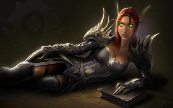 warcraft, world, art, games, wow, fantasy, elf, blood, video, armor, fan, нэара, игры, blizzard,