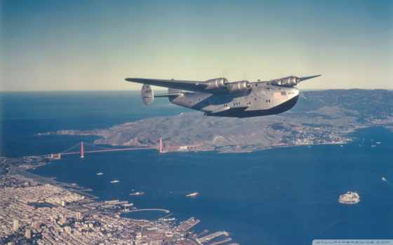 ,aircraft, boeing, мост, залив, город,