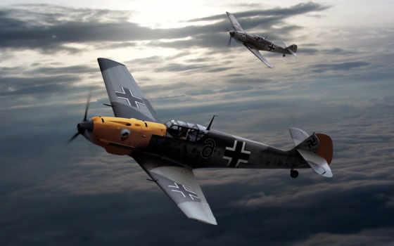 messerschmitt, военный, самолёт