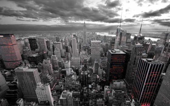 город, new, york, kinkade, нью, проспект, nyc, небоскребы,