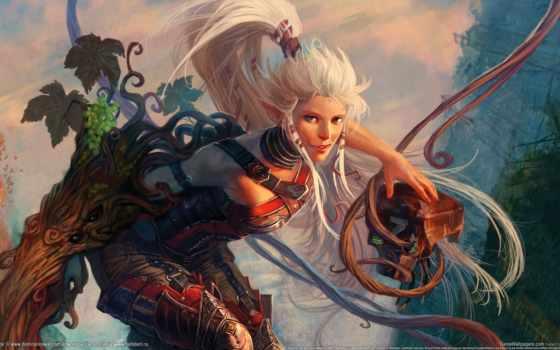 fantasy, elfy, эльф, девушка, art, сайте, ruanava, красивое,