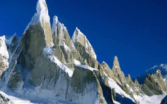 горы, чили, гор