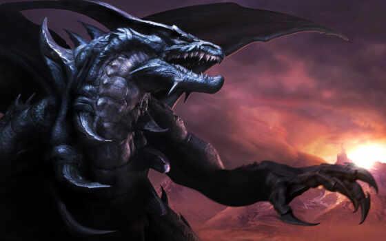 дракон, драконы, фэнтези