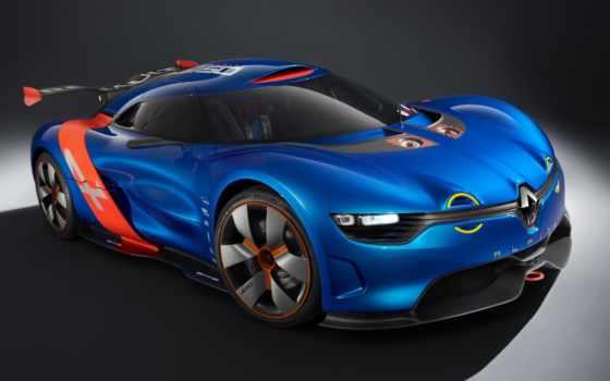 renault, alpine, reno, concept, машины, автомобиля,