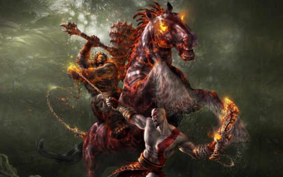 всадник, god, лошадь, war, битва, апокалипсиса, darksiders, цепь, смерть, was,