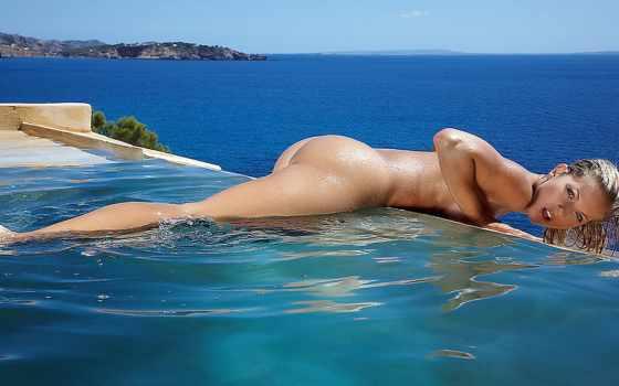 море, девушки, взгляд