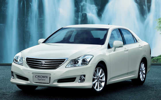 toyota, crown, car