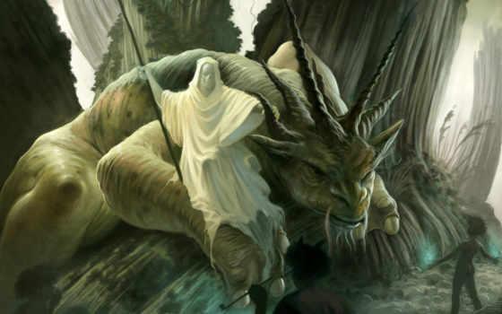 фэнтези, фантастика, добавлено, обоях, года, монстры, разное, monster,