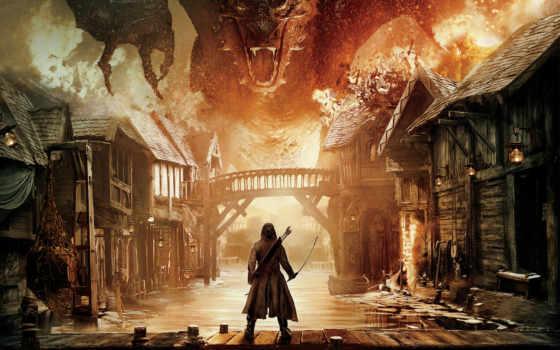 hobbit, битва, пять, armies, воинств, пяти, ан,