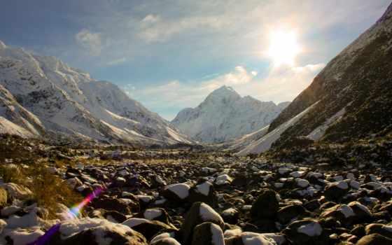 zealand, новая, fiordland, природа, парки, горы, пейзажи -, новой, desktop,