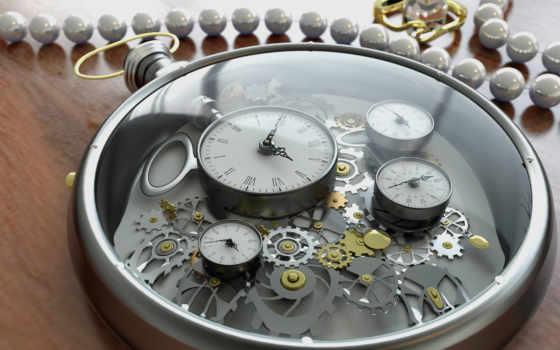 рендеринг, часы