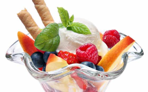 мороженое, десерт, png, блюда, фотосток,