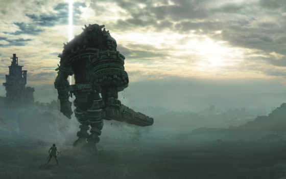 shadow, colossus, desktop, фон,