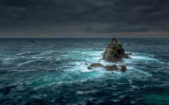 буря, море, ocean, природа, дерево, ultra, пляж