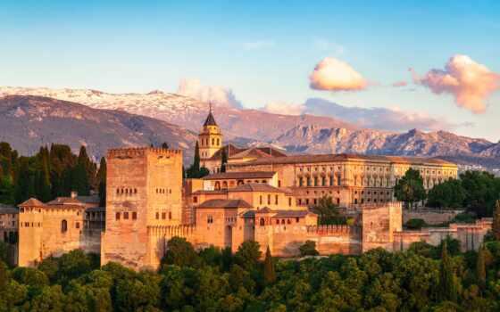 alhambra, hotel, дворец, гранада, expedia