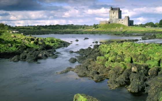 обои, шотландия, замок, донан, эйлен, замки, шотла