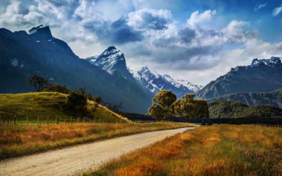 горы, дорога