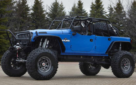 jeep, wrangler, blue, color, баги, тюнинг,