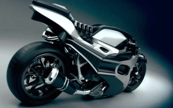 мотоцикл, брутальный
