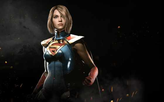 injustice, supergirl, новости