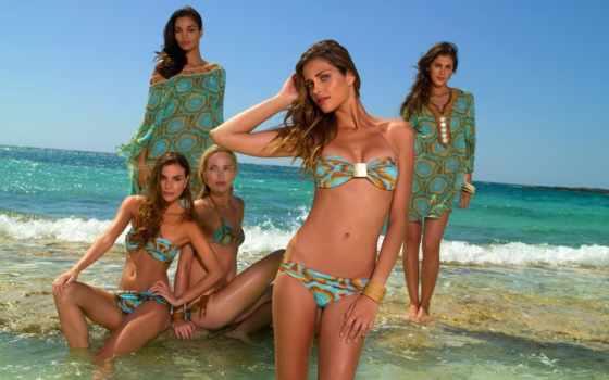 купальниках, красивые, devushki, купальники, девушек, красивых,