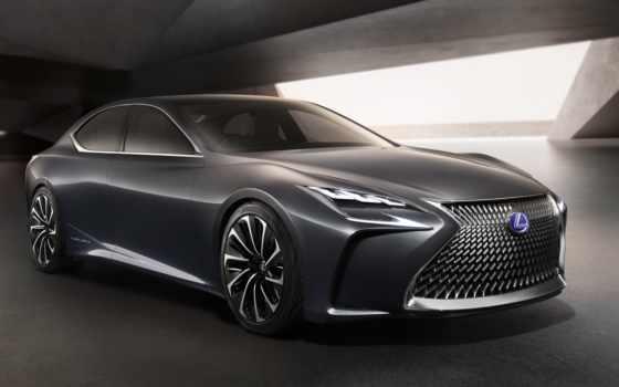 lexus, ls, new, седан, нового, году, поколения,