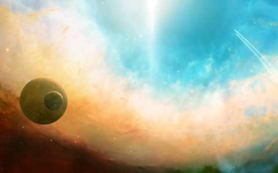 планеты, небо Фон № 24307 разрешение 2560x1600